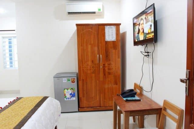 Nhà nghỉ Hùng Loan với nhiều tiện nghi (Ảnh ST)