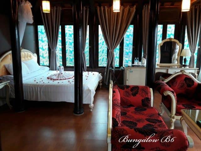 Phòng nghỉ trong resort (Ảnh ST)