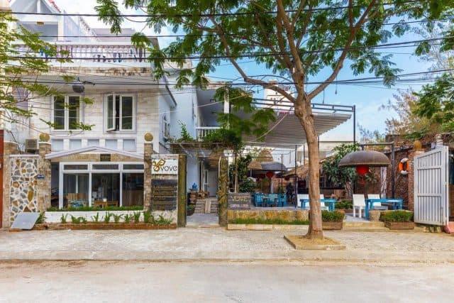 Toàn cảnh Bookaholic Beach Hosteltại Đà Nẵng (Ảnh ST)