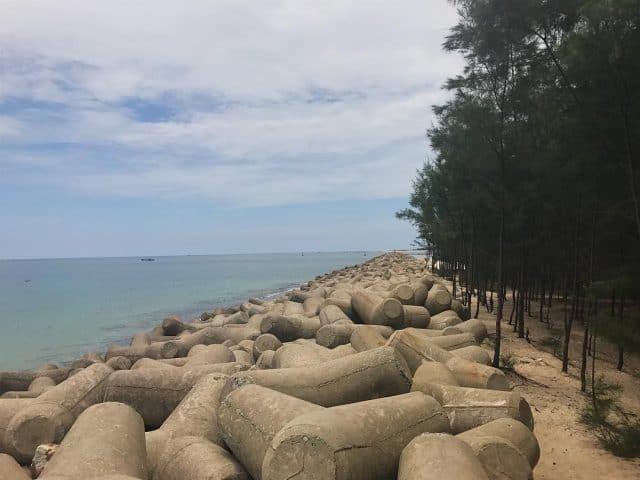 Bãi tắm ở Huế độc đáo chỉ có ở Hải Dương (Ảnh: ST)