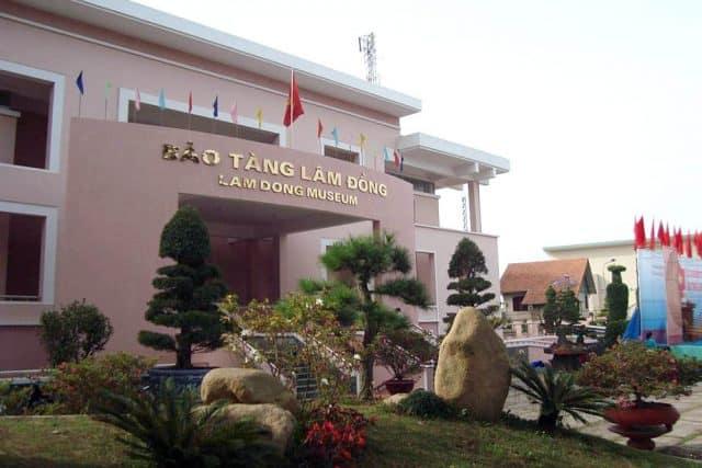 bảo tàng Lâm Đồng (Ảnh: ST)