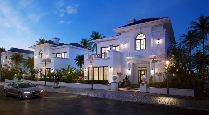 khu biệt thự Vinpearl Phú Quốc