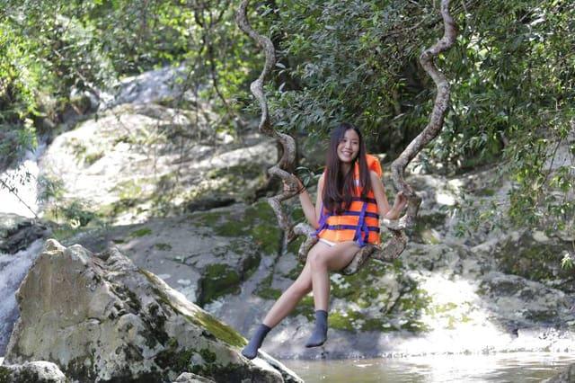 thác 7 tầng Tà Ngào (Ảnh: ST)