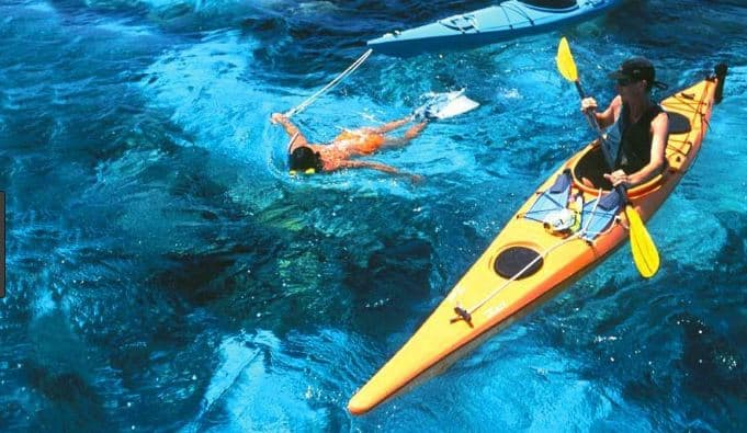 chèo thuyền Kayak Vinpearl Phú Quốc