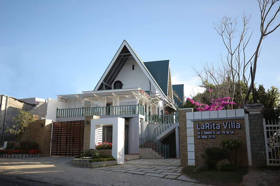 Larita Villa xinh đẹp nằm gần chợ Đà Lạt