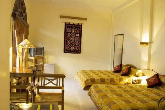Phong cách thiết kế phòng nghỉ mới lạ (Ảnh: ST)