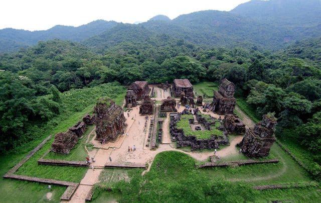 Thánh địa Mỹ Sơn tại Quảng Nam (Ảnh ST)
