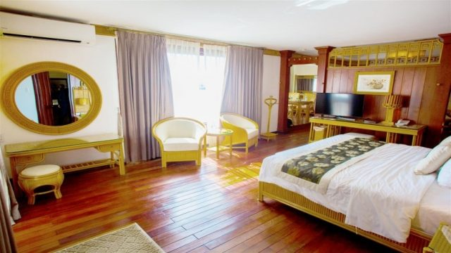 Phòng nghỉ tiện nghi tại Resort và Spa Hương Giang (Ảnh: ST)