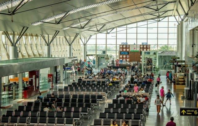 Phòng chờ tại Sân bay Đà Nẵng (Ảnh ST)