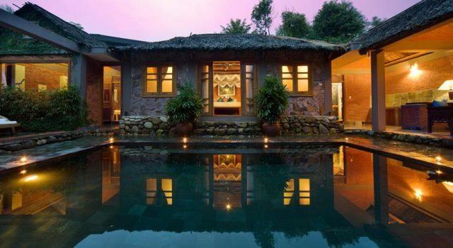 Thiết kế khu nghỉ dưỡng đậm chất phương Đông (Ảnh: ST)