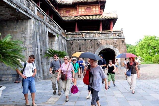 Du lịch tham quan thành phố Huế (Ảnh: ST)