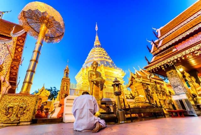 Chùa Phrathat Doi Suthep linh thiêng (Ảnh ST)