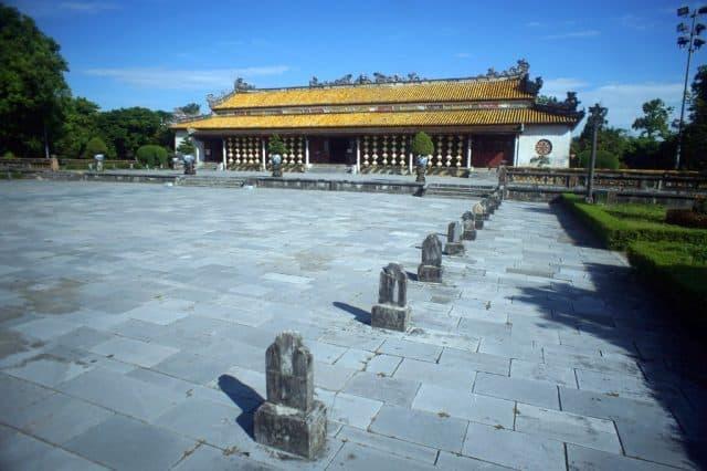 Công trình kiến trúc độc đáo còn lại tại mảnh đất Cố đô (Ảnh ST)