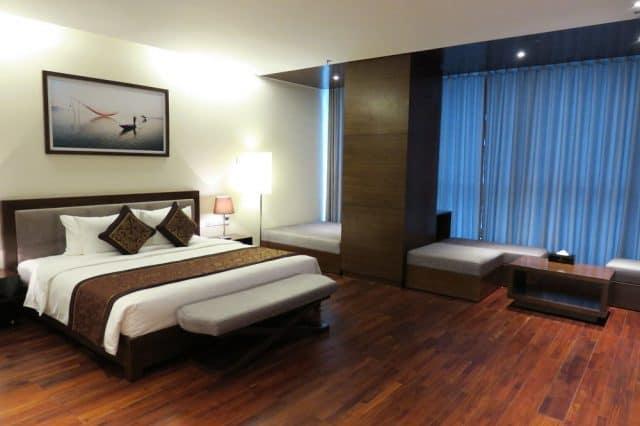 Phòng ngủ Grand Tourane Đà Nẵng (Ảnh: ST)
