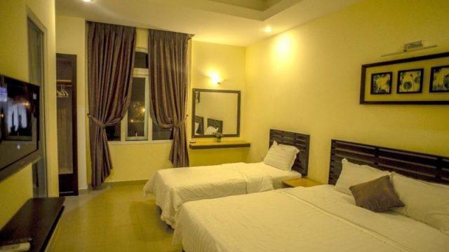 Khách sạn Hilary Đà Nẵng thiết kế ấm cúng (Ảnh: ST)