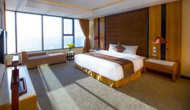 Phòng ngủ Mường Thanh thiết kế sang trọng (Ảnh: ST)