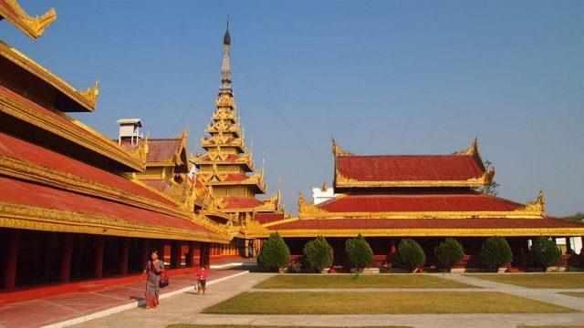 Nét sang trọng, cổ kính của Cung điện hoàng gia cuối cùng ở Myanmar (Ảnh ST)