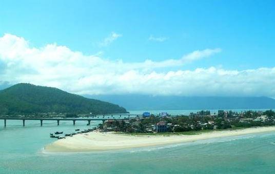 panorama of Phuoc Hai sea