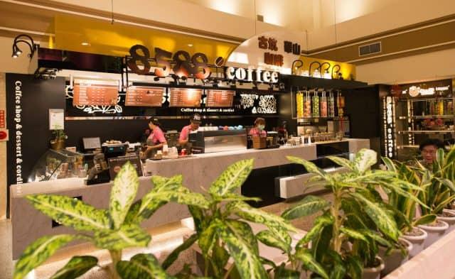 Một quán cà phê tại Đài Loan (Ảnh: ST)