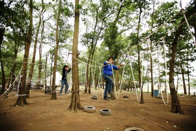 Địa điểm cắm trại gần Hà Nội (Ảnh: ST)