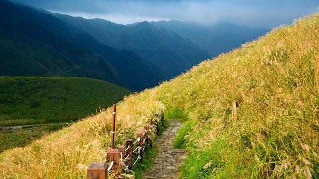 Con đường lên Núi Dương Minh (Ảnh ST)