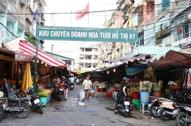 cổng chợ hoa hồ thị kỷ