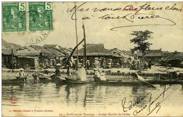 Chợ Trung Phước dưới triều Tây Sơn (Ảnh ST)
