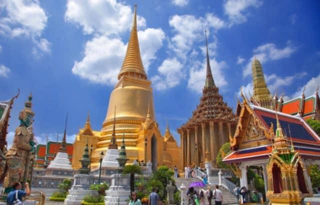 Toàn cảnh chùa Phật Ngọc tại Thái Lan (Ảnh ST)
