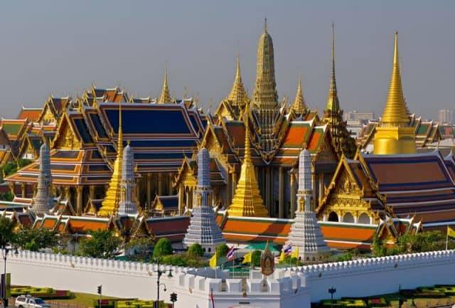 Chùa Phật Ngọc trong khuôn viên Cung điện Hoàng Gia (Ảnh ST)