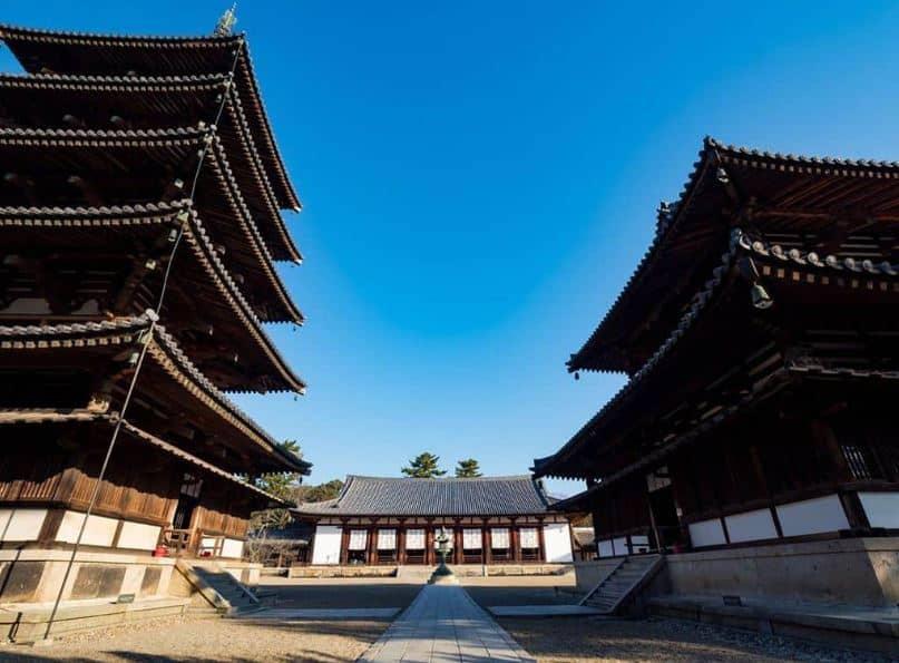 Quần thể kiến trúc Phật giáo khu vực chùa Horyu-ji