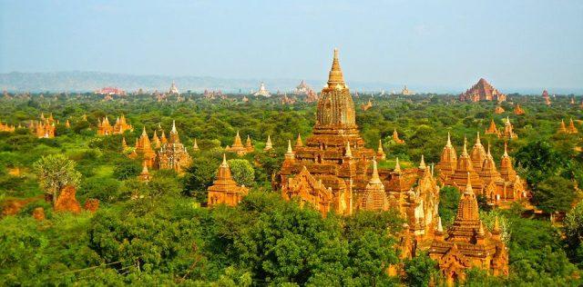 Cố đô Bagan huyền bí, cổ kính nhất ở Myanmar (Ảnh ST)