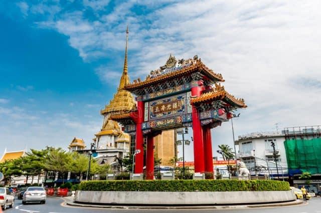 Cổng chào Chinatown Bangkok (Ảnh: ST)