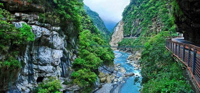 Công viên quốc gia Taroko với thiên nhiên hùng vĩ (Ảnh ST)