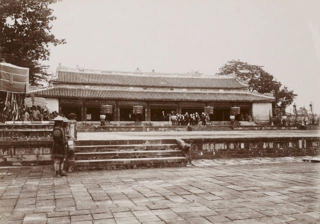 Điện Thái Hòa xưa (Ảnh ST)