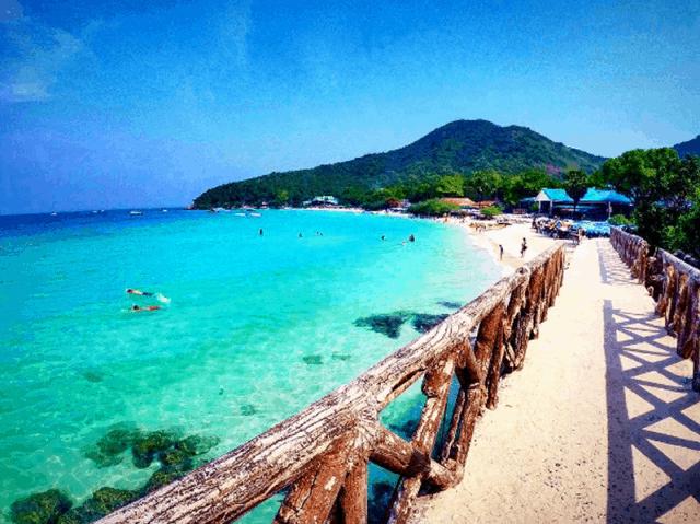 Đảo Koh Larn Thái Lan (Ảnh ST)