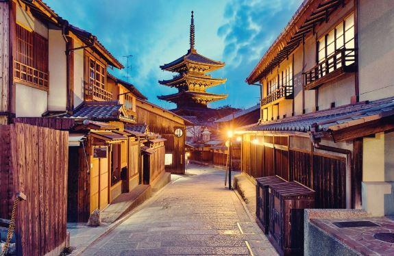 cụm di tích cố đô Kyoto cổ kính