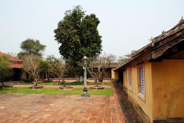 Khoảng sân rộng trong cung (Ảnh ST)