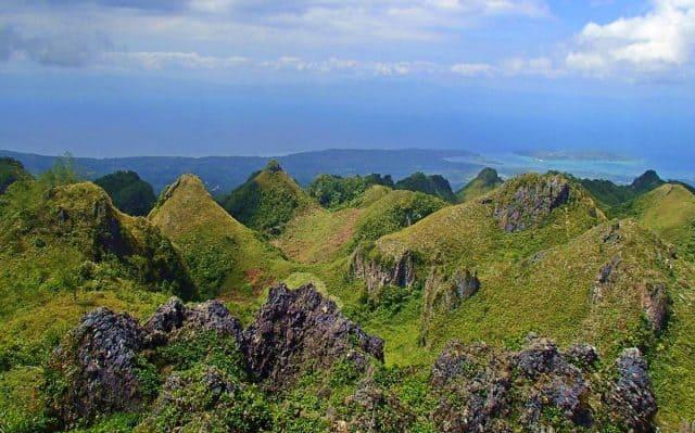 Đỉnh núi Osmena hùng vĩ ở Philippines (Ảnh: ST)