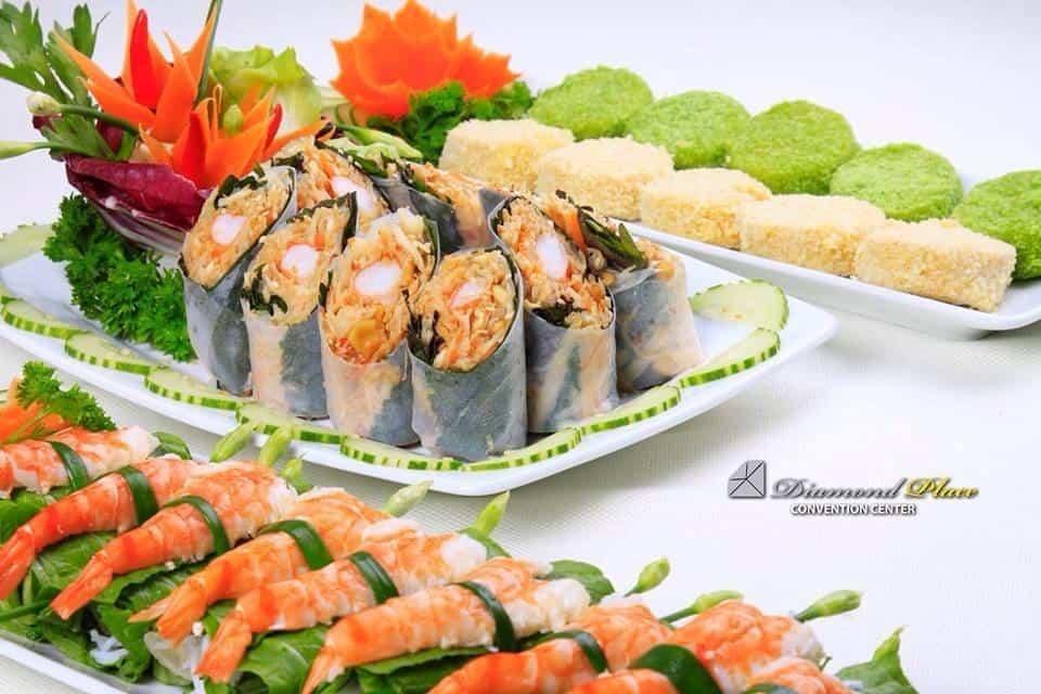 Hôm nay bạn muốn ăn gì? Món Thái món Sing món Tàu món Nhật - Đông Đô Hotel chiều hết!