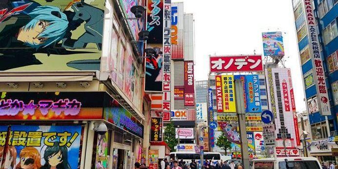 Toàn cảnh phố Akihabara