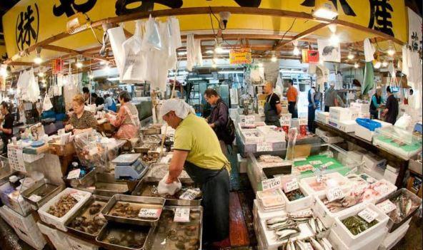 một số lưu ý khi tới chợ cá Tsukiji