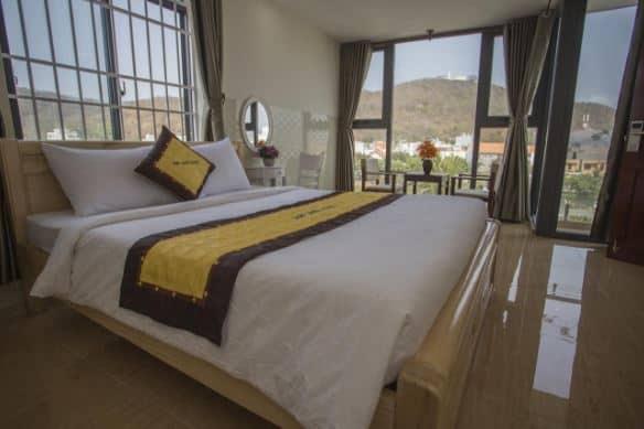 phòng ngủ tại Sun Lake Hotel