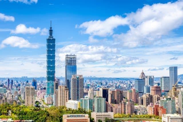 Tòa tháp Taipei 101 - niềm tự hào của người dân Đài Loan (Ảnh ST)