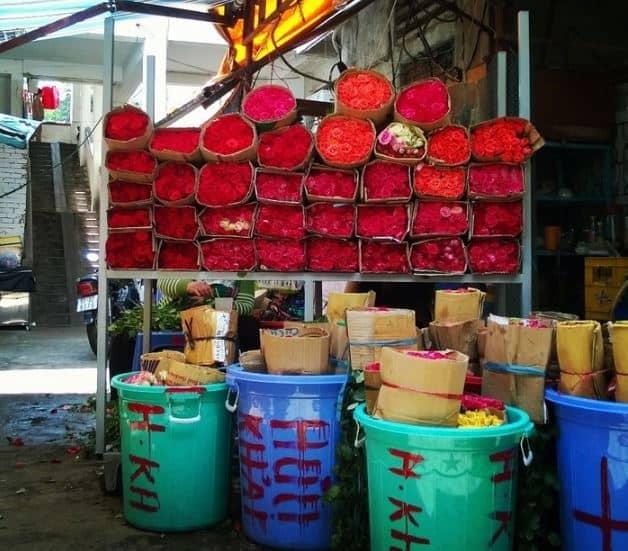 kinh nghiệm chọn hoa chợ Hồ Thị Kỷ