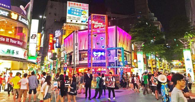 Chợ đêm ở Ximending Đài Loan (Ảnh ST)