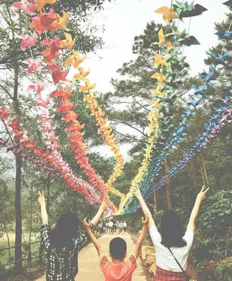 Khu du lịch sinh thái Thiên Phú Lâm - Địa điểm vui chơi cuối tuần ngay Hà Nội