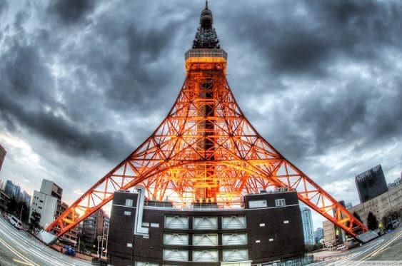 Kiến trúc tháp Tokyo Tower