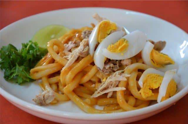 Nangyi Thoke- món ăn không thể bỏ lỡ khi đến Myanmar (Ảnh ST)