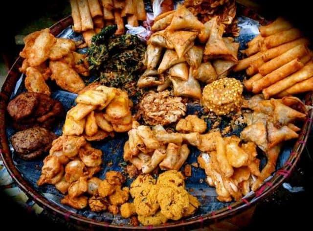 Những đồ ăn chiên đậm đà hương vị (Ảnh ST)