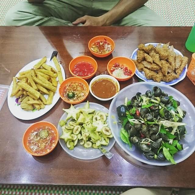 quán ốc ngon Hà Nội